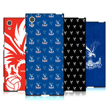 OFFICIAL CRYSTAL PALACE FC 2017/18 CREST PATTERN BLACK GEL CASE FOR SONY PHONES