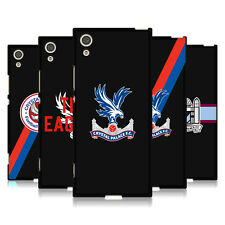 OFFICIAL CRYSTAL PALACE FC VARIOUS DESIGNS BLACK SOFT GEL CASE FOR SONY PHONES