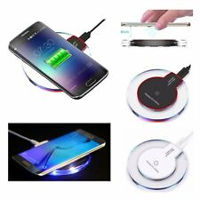 For iPhone 8 Samsung Galaxy Note 8 S8 Fast Qi Wireless Charger Charging Dock Pad
