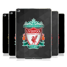 OFFICIAL LIVERPOOL FOOTBALL CLUB CREST 1 SOFT GEL CASE FOR APPLE SAMSUNG TABLETS