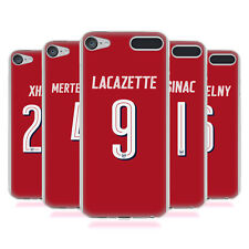 OFFICIAL ARSENAL FC 2017/18 PLAYERS HOME KIT 2 GEL CASE FOR APPLE iPOD TOUCH MP3