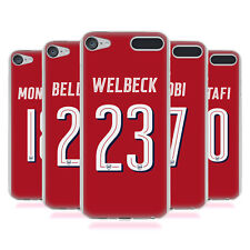 OFFICIAL ARSENAL FC 2017/18 PLAYERS HOME KIT 1 GEL CASE FOR APPLE iPOD TOUCH MP3