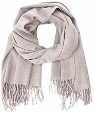 Women s Vmsolid Long Scarf Noos Scarf, Grey light Grey Melange ,