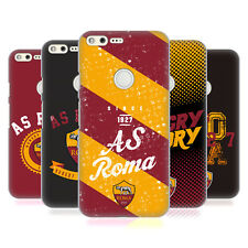 UFFICIALE AS ROMA 2017/18 TIPOGRAFIA COVER RETRO RIGIDA PER GOOGLE TELEFONI