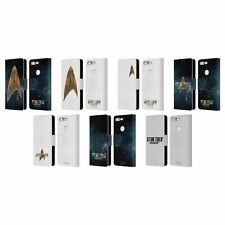 OFFICIAL STAR TREK DISCOVERY LOGO LEATHER BOOK WALLET CASE FOR GOOGLE PHONES