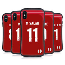 LIVERPOOL FC 2018/19 PLAYERS HOME KIT 1 CASE IBRIDA PER APPLE iPHONES TELEFONI