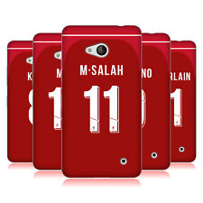 LIVERPOOL FC LFC 2018/19 PLAYERS HOME KIT 1 CASE IN GEL PER MICROSOFT TELEFONI