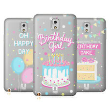 HEAD CASE DESIGNS COMPLEANNO COVER MORBIDA IN GEL PER SAMSUNG TELEFONI 2