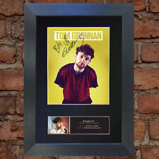 TOM GRENNAN Quality Autograph Mounted Signed Photo Reproduction Print A4 757