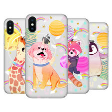 HEAD CASE DESIGNS UNICORNI SPAZIO 2 COVER RETRO RIGIDA PER APPLE iPHONE TELEFONI
