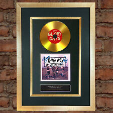 #174 GOLD DISC LITTLE MIX Glory Days Album Cd Signed Autograph Mounted Print