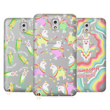 HEAD CASE DESIGNS LLAMACORN COVER MORBIDA IN GEL PER SAMSUNG TELEFONI 2