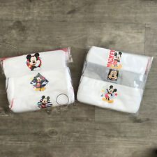 BOYS Kids Pack of 3 Mickey Mouse Cotton Vests Top Underwear Age 3 - 4 Years