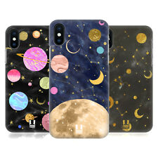 HEAD CASE DESIGNS GALASSIA MARMOREA COVER RETRO RIGIDA PER APPLE iPHONE TELEFONI