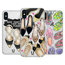 HEAD CASE DESIGNS SCARPE COVER RETRO RIGIDA PER APPLE iPHONE TELEFONI