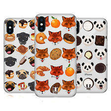 HEAD CASE DESIGNS ANIMALI DOLCI COVER RETRO RIGIDA PER APPLE iPHONE TELEFONI