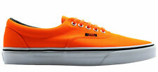 Vans Off The Wall Era Unisex Neon Orange Lace Up Canvas Trainers VHQAO7 VANS B
