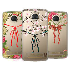 HEAD CASE DESIGNS NASTRI E FIORI COVER RETRO RIGIDA PER MOTOROLA TELEFONI 1