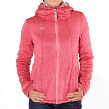 Ragwear Renne Hooded Sweat Jacket Pink Melange Damen Sweatjacke gefüttert Pink
