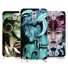 HEAD CASE DESIGNS TESCHI RAGAZZE COVER MORBIDA IN GEL PER SAMSUNG TELEFONI 2