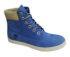 Timberland 6 Inch Earthkeepers Deering Blue Leather Womens Boots 8159A D26