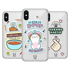 HEAD CASE DESIGNS MODE POP COREANE COVER RETRO RIGIDA PER APPLE iPHONE TELEFONI