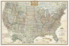 National Geographic Maps United States Executive Wall Map