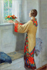 Póster, lienzo o cuadro en metacrilato New day - William Henry Margetson