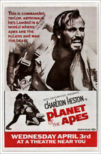 Poster / Toile / Tableau verre acrylique PLANET OF THE APES, top: Charlton...