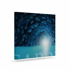 East Urban Home 'The Blue Grotto of Capri' Graphic Art Print on Canvas