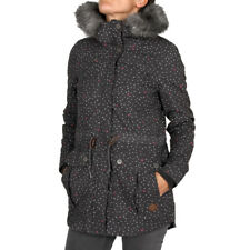 Ragwear Jewel Hearts Jacket Dark Grey Damen Parka Winterjacke Grau