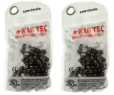 """Pack of 2 Chains in 3/8"""" .325"""" 1/4"""" .404"""" Pitch Choose Your Model From Listing"""