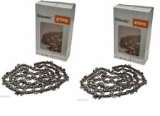 Genuine STIHL Chainsaw Saw Chain Original Twin Pack / Two Chains See Listing