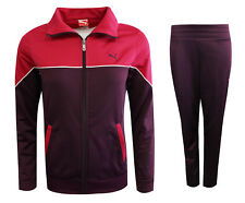 Puma Poly Suit Womens Zip Lightweight Tracksuit Polyester Purple 829969 09 M13