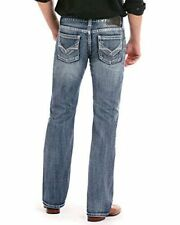 Rock and Roll Cowboy Men's and Pistol Regular Fit Jeans Straight Leg M1P5137
