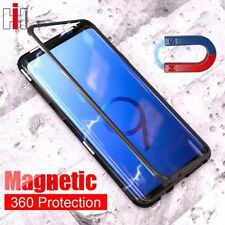 Hisomone Magnetic Adsorption Case For Samsung Galaxy S9 S8 Plus Note 8 Tempered