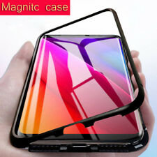 Metal bumper Magnet Case for Samsung Galaxy S8 S9 Plus note 8 Magnetic Case for