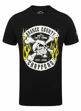 Orange County Choppers Maglietta Uomo Teschio Sedia a Dondolo Occ. S M L XL XXL
