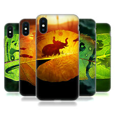 UFFICIALE ALYN SPILLER ARTE ANIMALI FOGLIE CASE IN GEL PER APPLE iPHONE TELEFONI