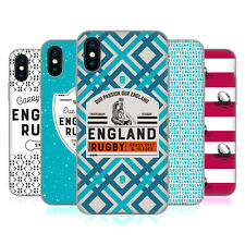 ENGLAND RUGBY UNION 2017/18 HERITAGE CASE IN GEL PER APPLE iPHONE TELEFONI
