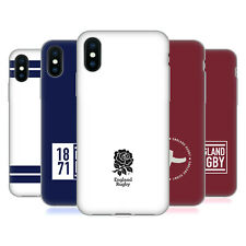 ENGLAND RUGBY UNION 2017/18 STRIPE BADGE CASE IN GEL PER APPLE iPHONE TELEFONI