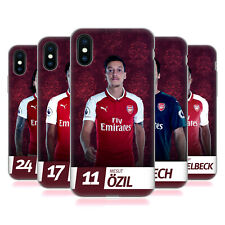 ARSENAL FC 2017/18 PRIMA SQUADRA GRUPPO 1 CASE IN GEL PER APPLE iPHONE TELEFONI