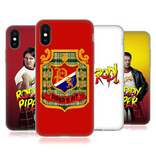 UFFICIALE WWE ROWDY RODDY PIPER COVER MORBIDA IN GEL PER APPLE iPHONE TELEFONI