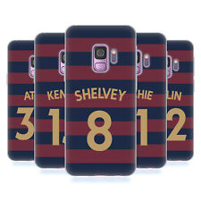 NEWCASTLE UNITED FC 2018/19 PLAYERS AWAY KIT 1 CASE IN GEL PER SAMSUNG PHONES 1