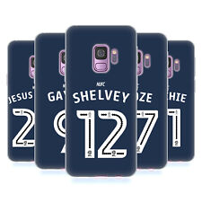 NEWCASTLE UNITED FC NUFC 2016/17 AWAY KIT 1 CASE IN GEL PER SAMSUNG TELEFONI 1