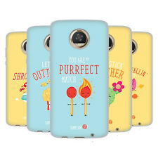 OFFICIAL MUY POP SUNNY SIDE UP MIX SOFT GEL CASE FOR MOTOROLA PHONES