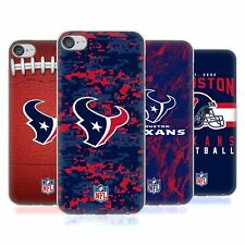 OFFICIAL NFL 2018/19 HOUSTON TEXANS SOFT GEL CASE FOR APPLE iPOD TOUCH MP3
