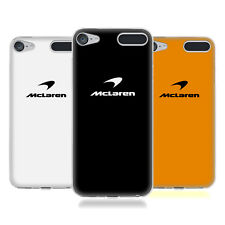 OFFICIAL MCLAREN 2018 LOGO SOFT GEL CASE FOR APPLE iPOD TOUCH MP3