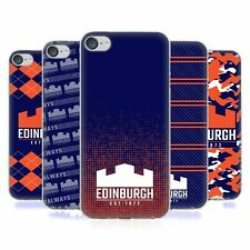 OFFICIAL EDINBURGH RUGBY 2018/19 LOGO SOFT GEL CASE FOR APPLE iPOD TOUCH MP3