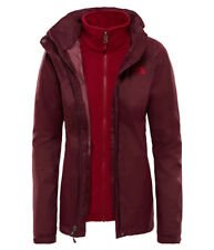 The North Face Evolve II Triclimate Jacket Damen 3in1 Doppeljacke fig brown-rumb